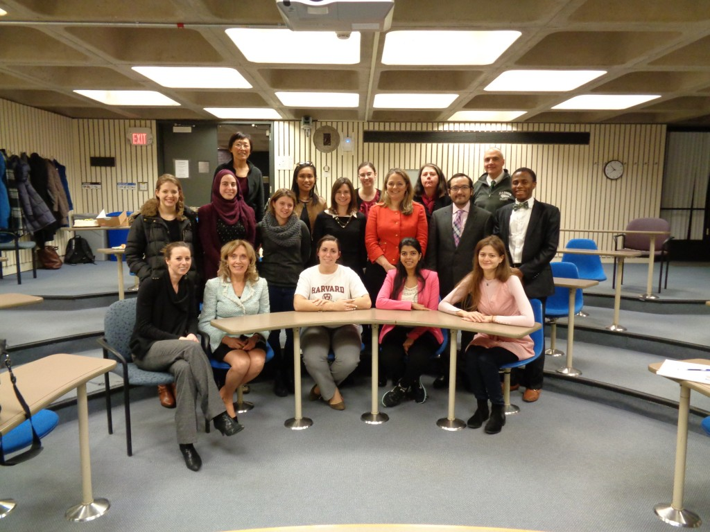 Harvard Art of Communication class, Fall 2014