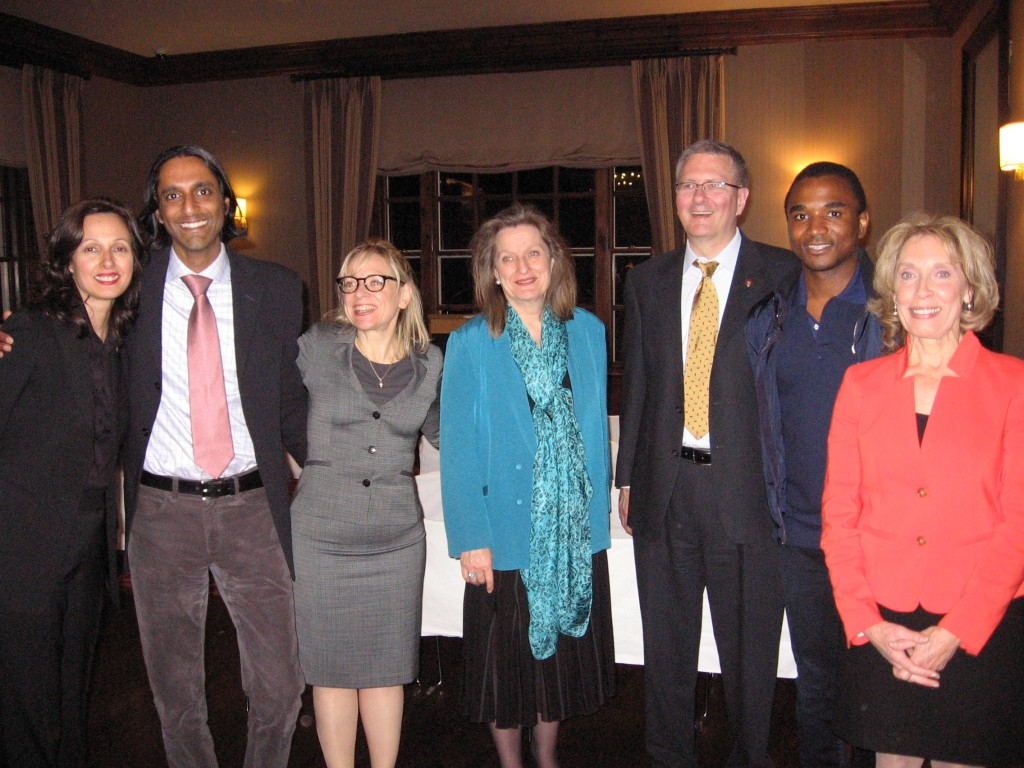 Concordia U. Alumni Event-Harvard Faculty Club-April 2013